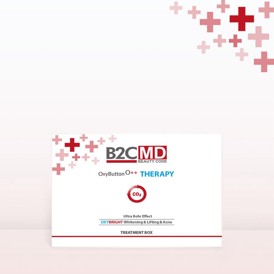 OxyButton CO2 Terapi OxyBright Tedavi Kiti Leke Açıcı & Sıkılaştırıcı & Akne Tedavisi