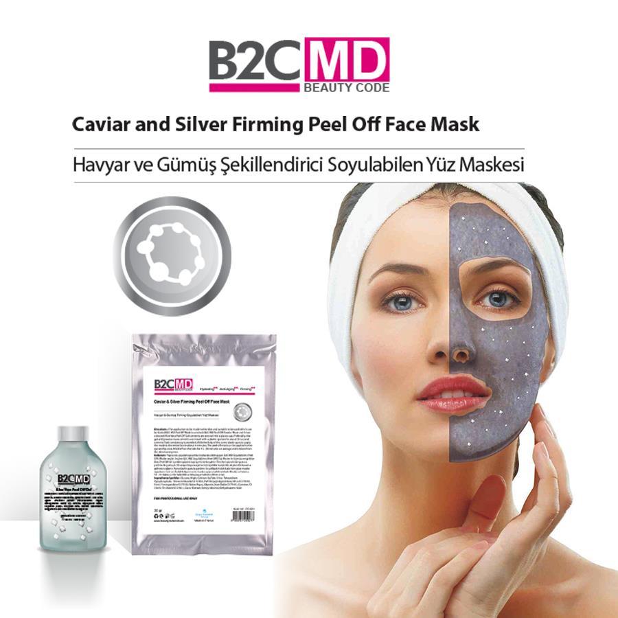 Havyar ve Gümüş Firming Soyulabilen Yüz Maskesi Bakım Seti