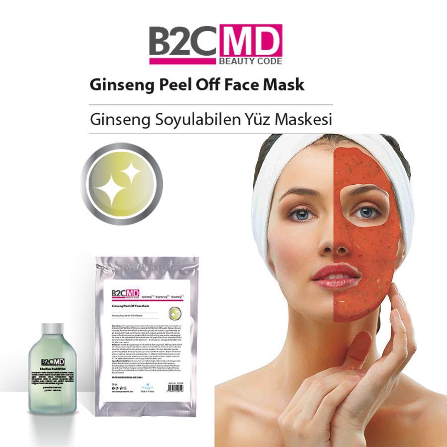 Ginseng Soyulabilen Yüz Maskesi Bakım Seti