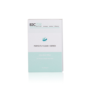 Ultra Bohr Etkili Karbondioksit Terapi Kolajen Sheet Maske (Yüz & Boyun)